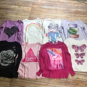 Lot of 8 Long Sleeve Children's Place Shirts